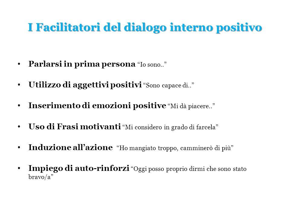 I Facilitatori del dialogo interno positivo