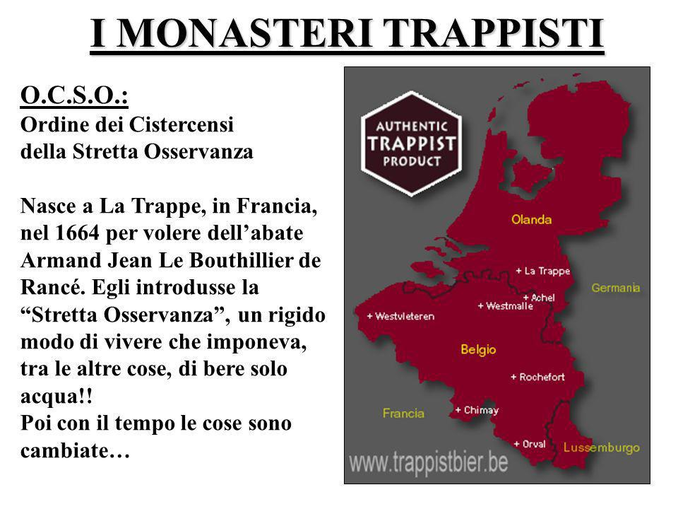I MONASTERI TRAPPISTI O.C.S.O.: Ordine dei Cistercensi