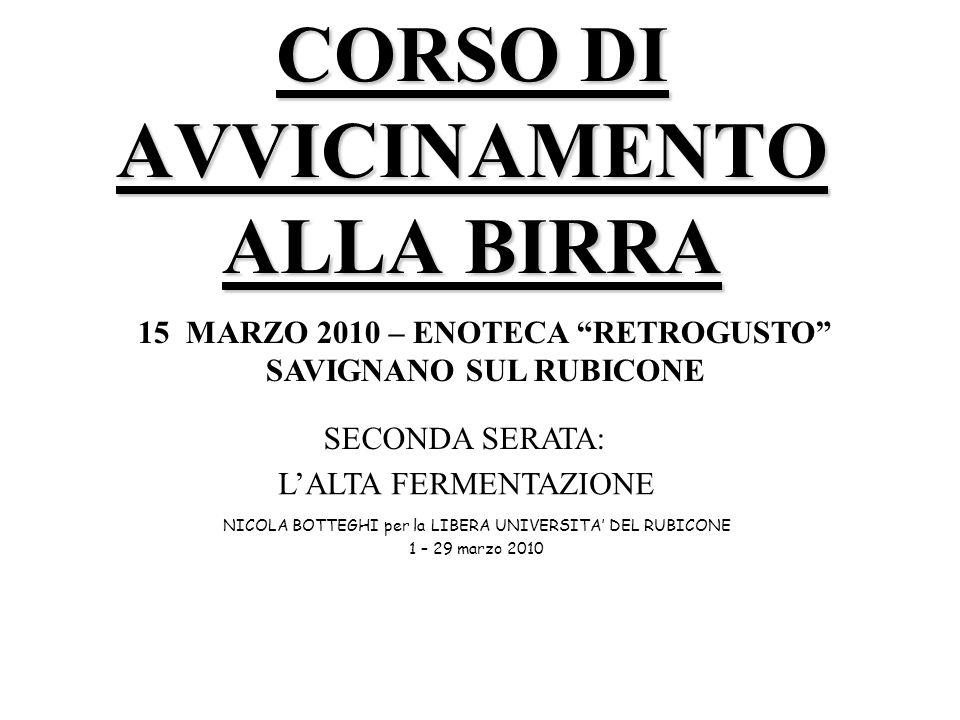 CORSO DI AVVICINAMENTO ALLA BIRRA