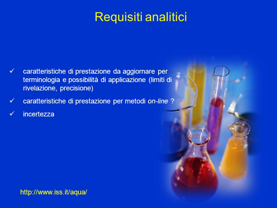 Requisiti analitici