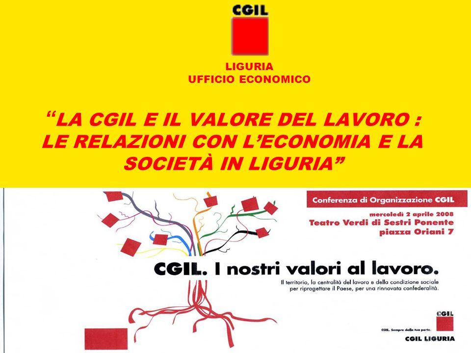 LIGURIA UFFICIO ECONOMICO.