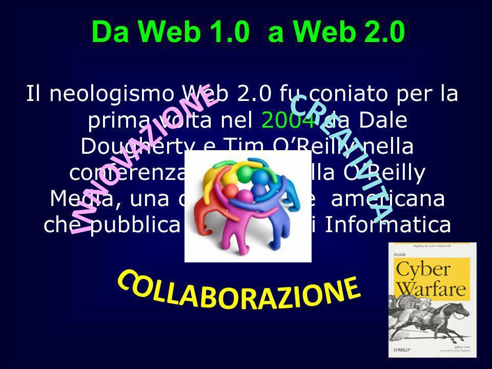 Da Web 1.0 a Web 2.0