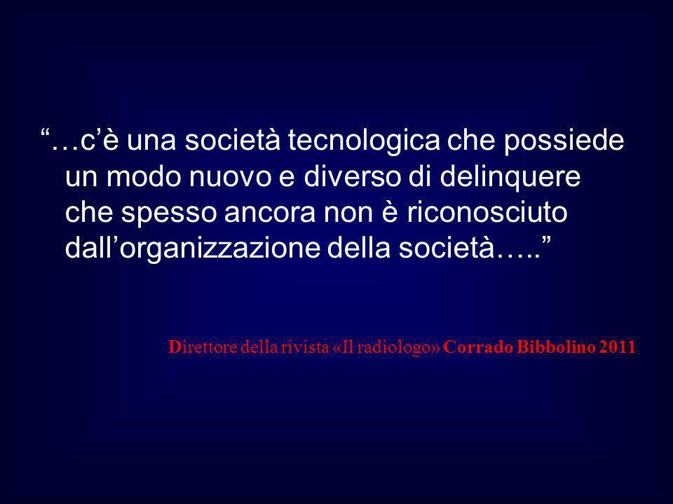 Direttore della rivista «Il radiologo» Corrado Bibbolino 2011