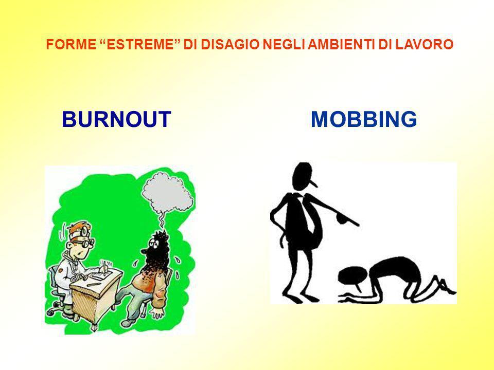FORME ESTREME DI DISAGIO NEGLI AMBIENTI DI LAVORO