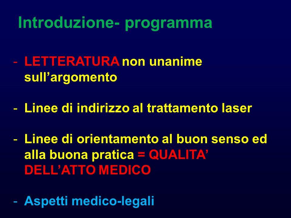 Introduzione- programma