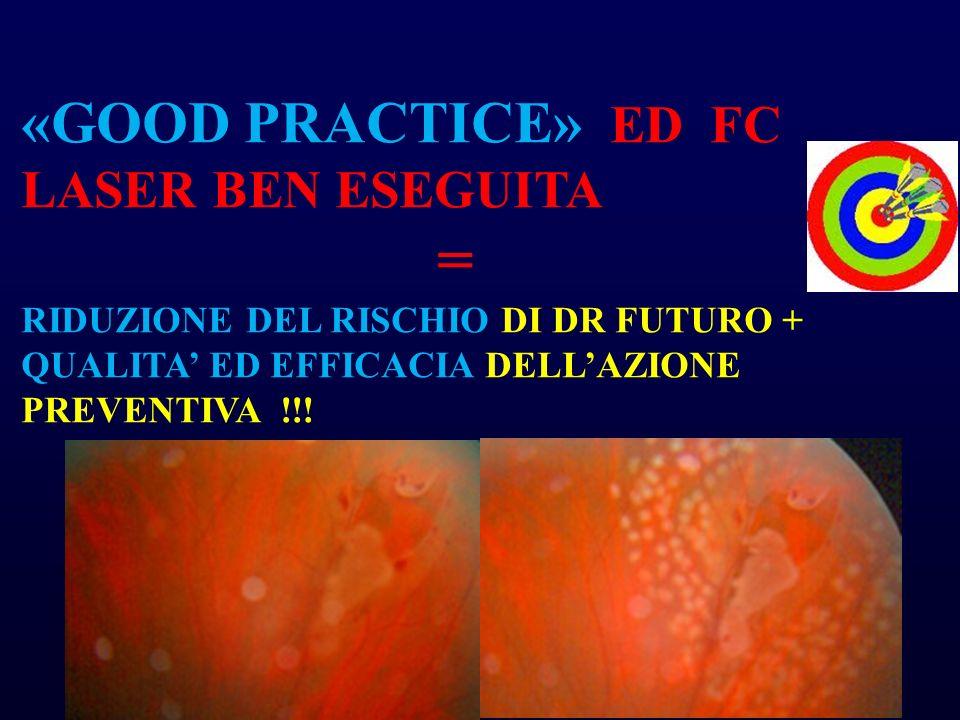 = «GOOD PRACTICE» ED FC LASER BEN ESEGUITA