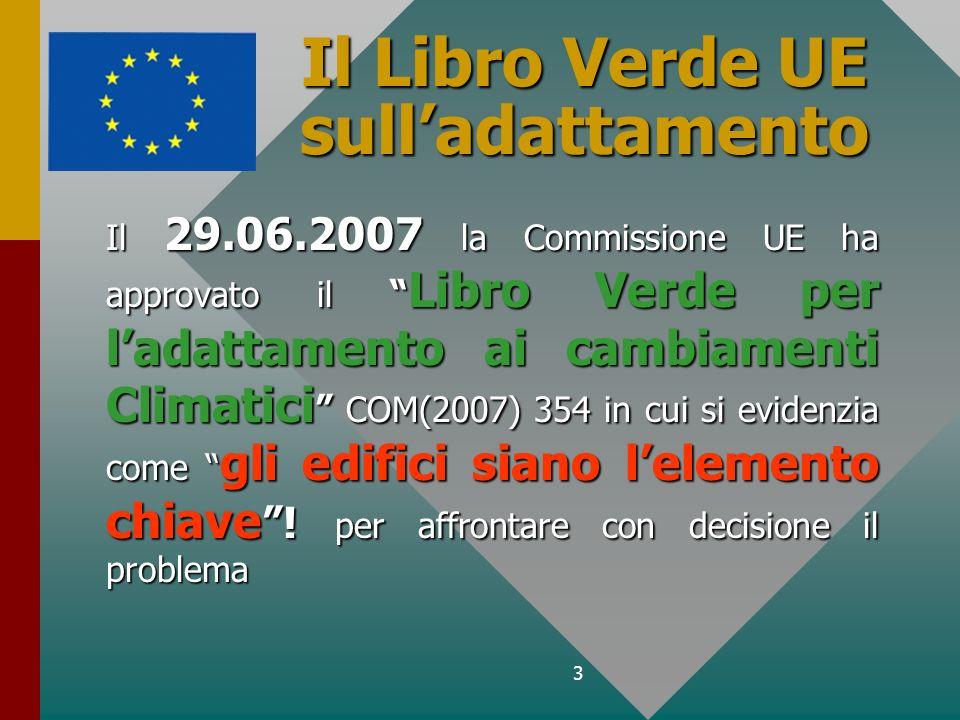 Il Libro Verde UE sull'adattamento