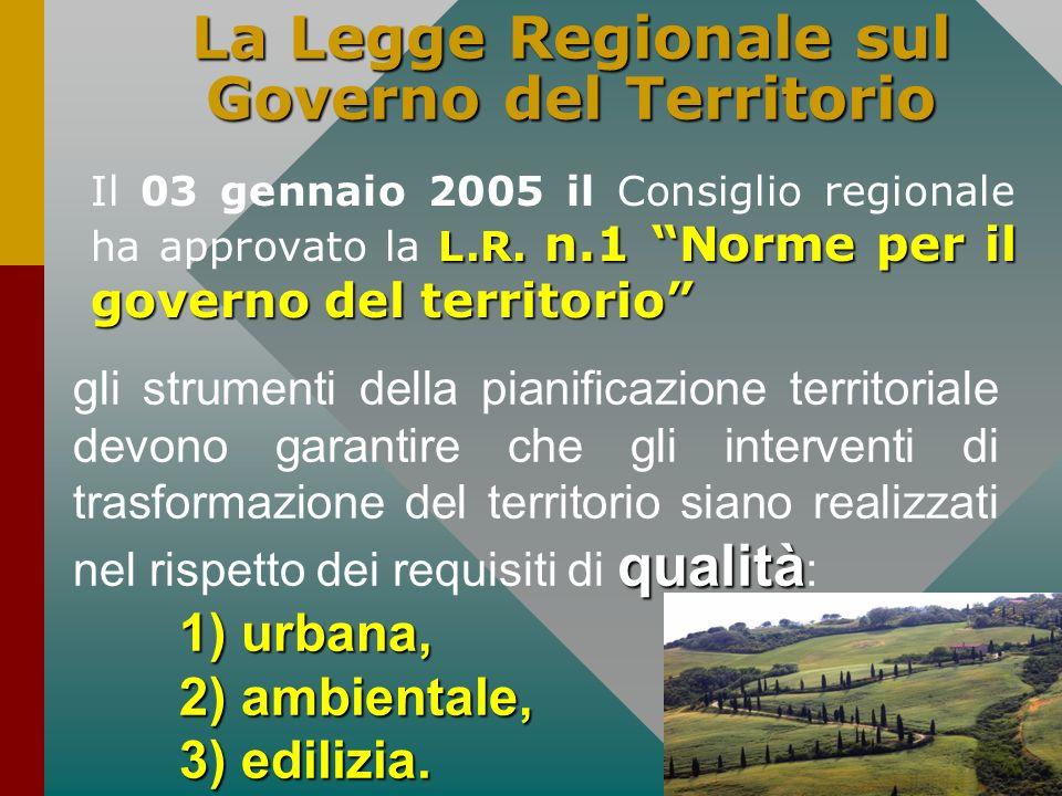 La Legge Regionale sul Governo del Territorio