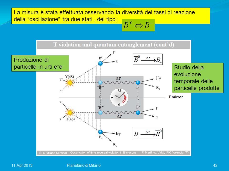 Produzione di particelle in urti e+e-