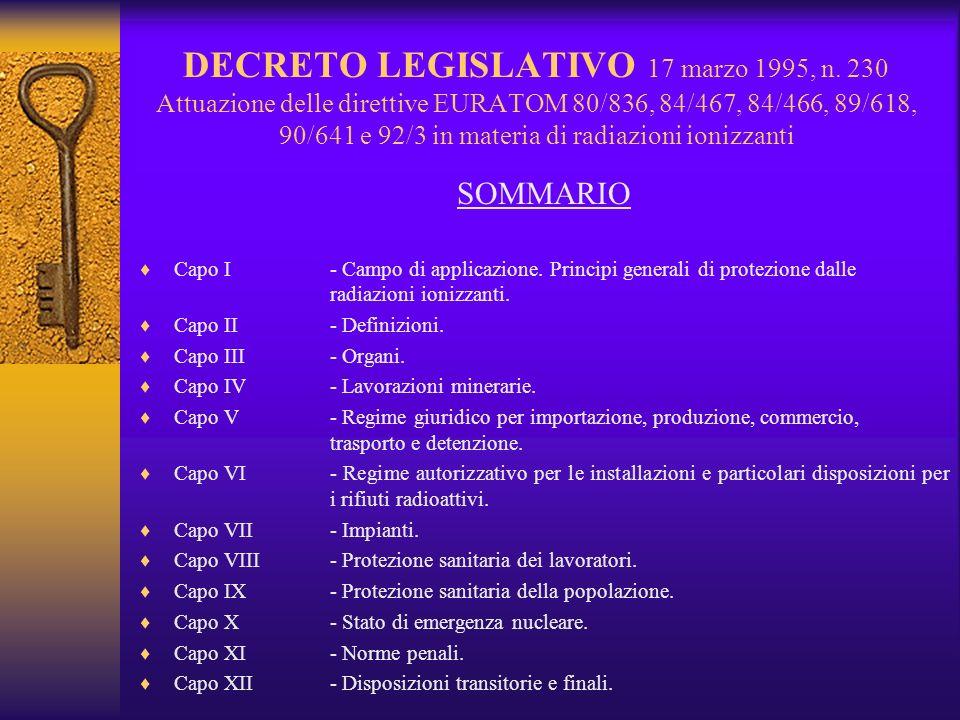 DECRETO LEGISLATIVO 17 marzo 1995, n