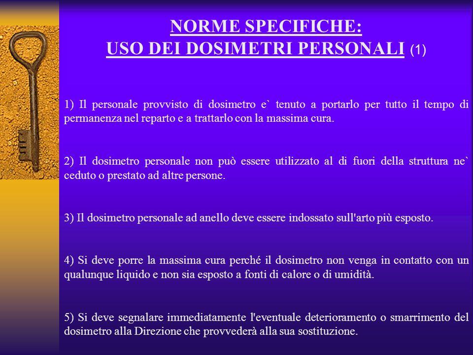 USO DEI DOSIMETRI PERSONALI (1)