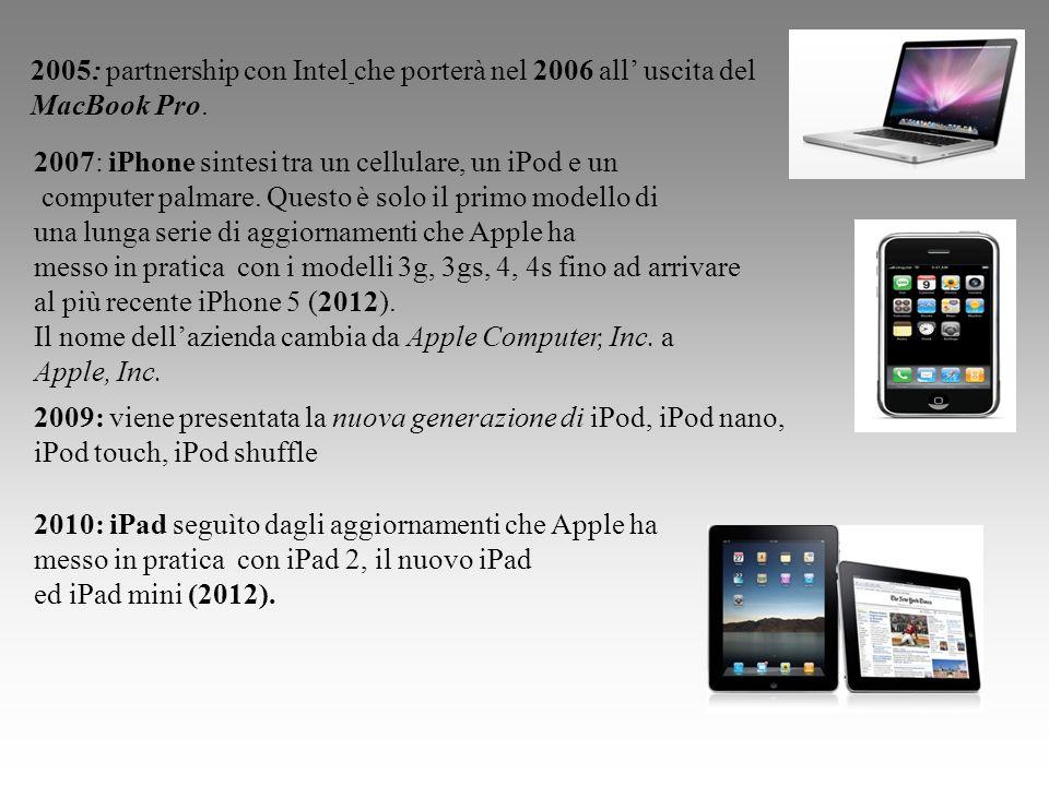 2007: iPhone sintesi tra un cellulare, un iPod e un