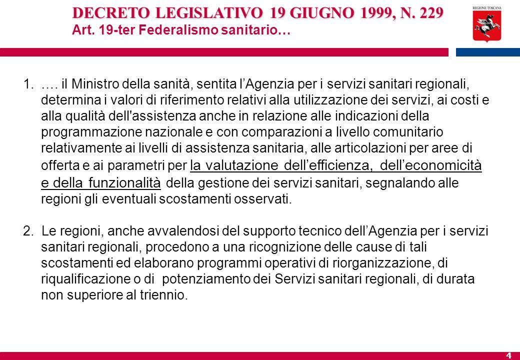 DECRETO LEGISLATIVO 19 GIUGNO 1999, N. 229
