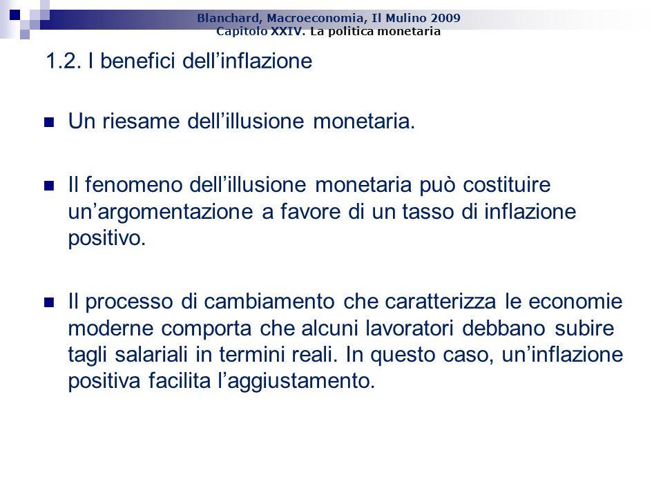 1.2. I benefici dell'inflazione