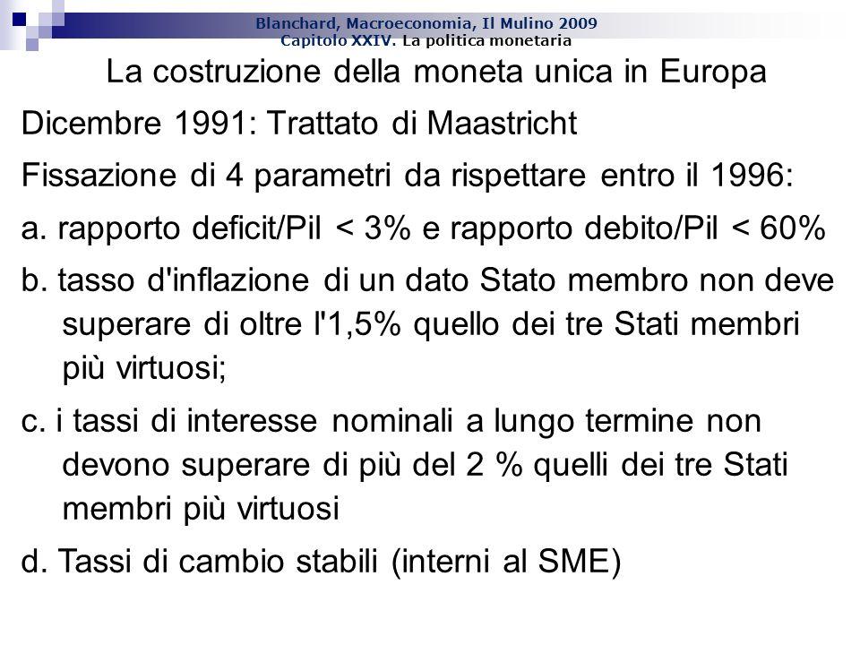 La costruzione della moneta unica in Europa