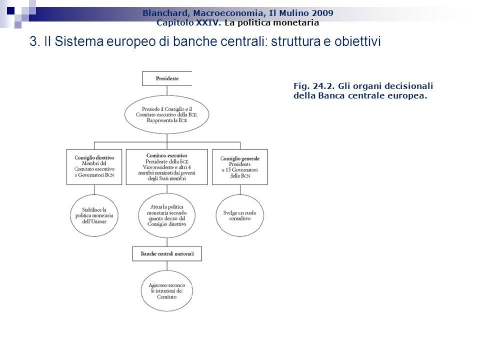 3. Il Sistema europeo di banche centrali: struttura e obiettivi