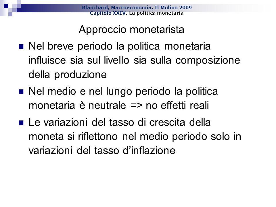Approccio monetarista