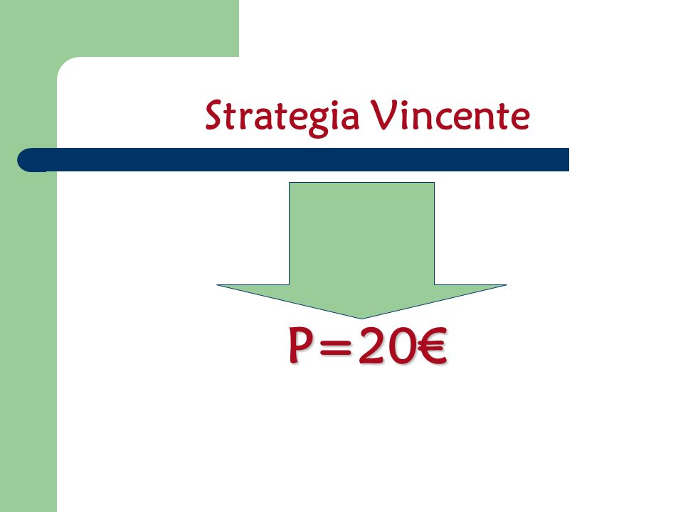Strategia Vincente P=20€