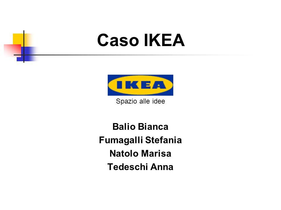 Caso IKEA Balio Bianca Fumagalli Stefania Natolo Marisa Tedeschi Anna