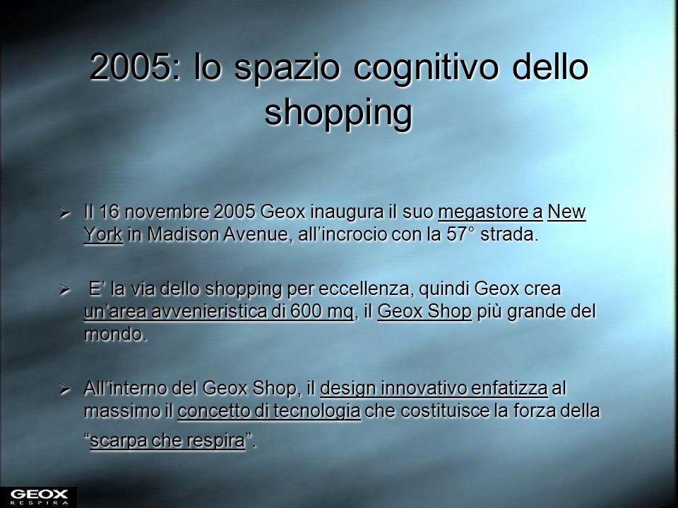 2005: lo spazio cognitivo dello shopping