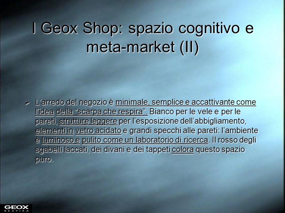 I Geox Shop: spazio cognitivo e meta-market (II)