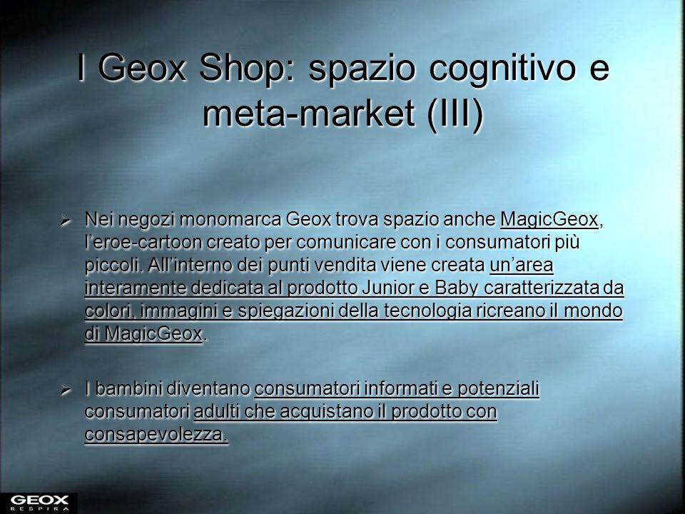 I Geox Shop: spazio cognitivo e meta-market (III)