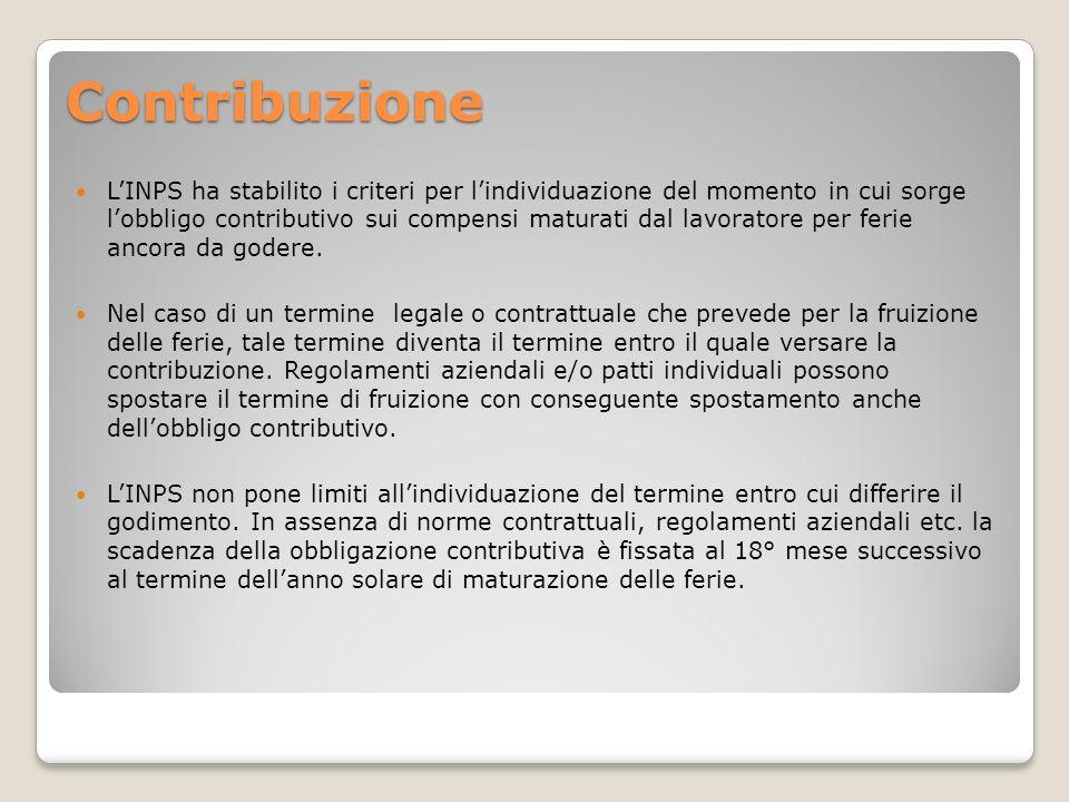 Contribuzione