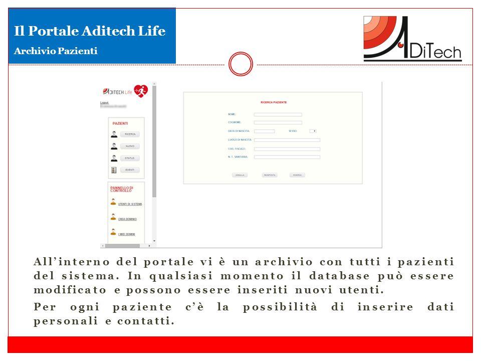 Il Portale Aditech Life Archivio Pazienti