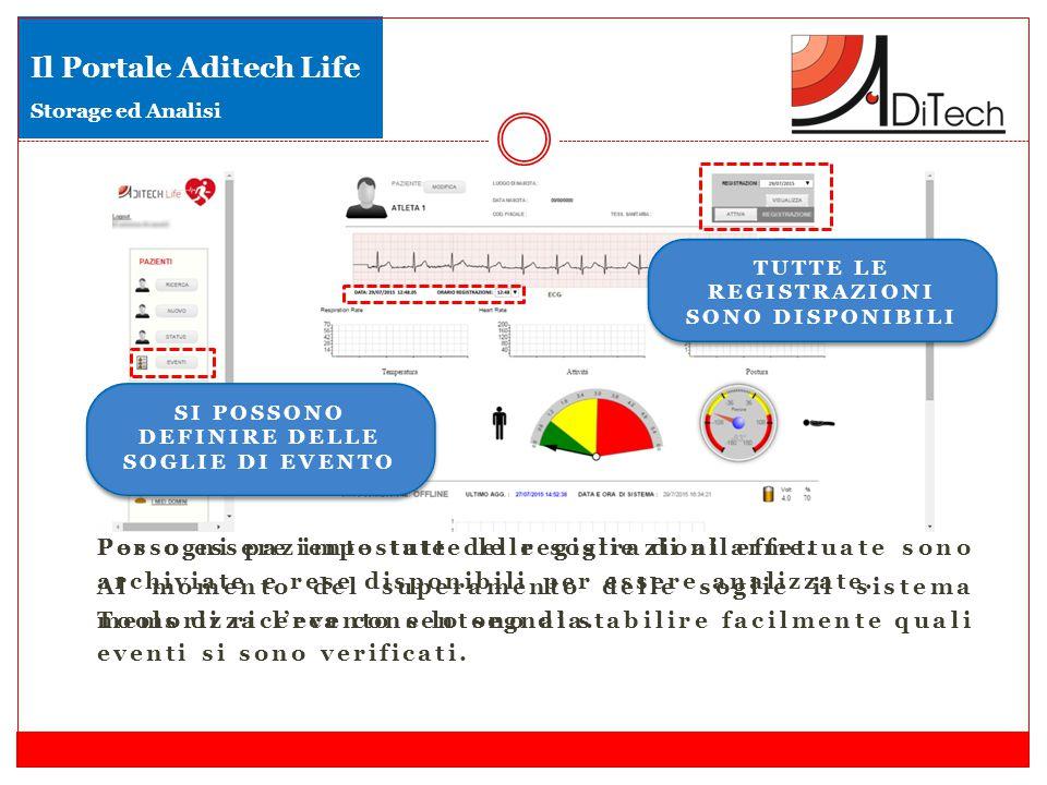 Il Portale Aditech Life Storage ed Analisi
