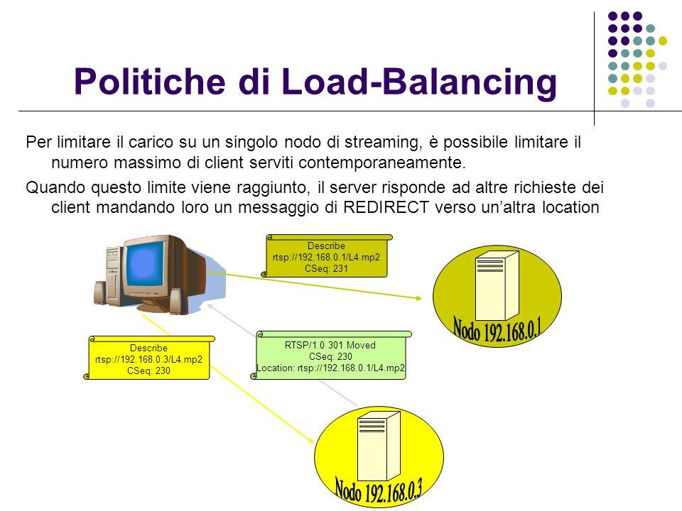 Politiche di Load-Balancing