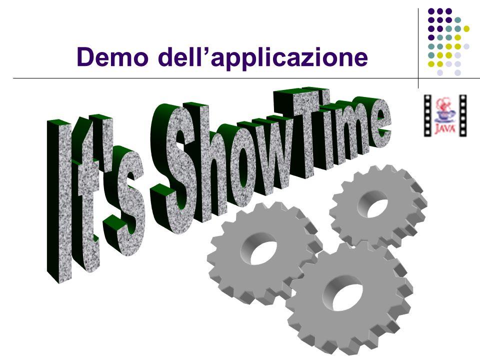 Demo dell'applicazione