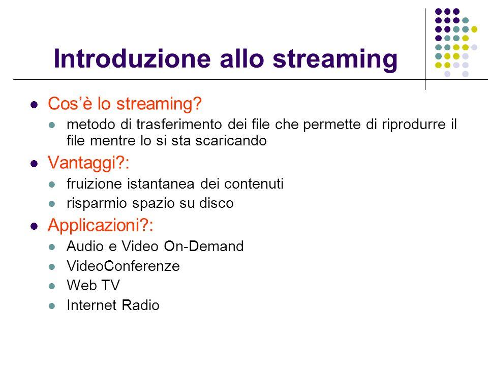 Introduzione allo streaming