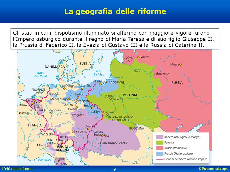La geografia delle riforme