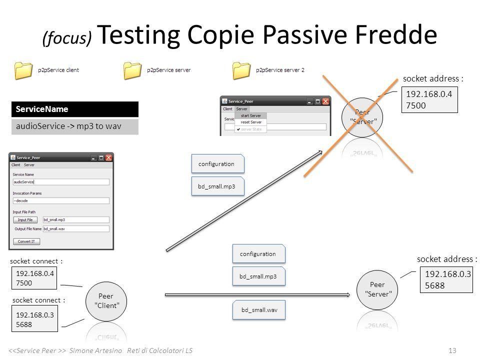 (focus) Testing Copie Passive Fredde