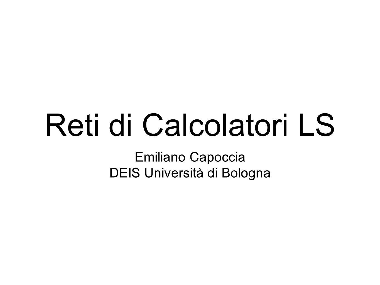 DEIS Università di Bologna