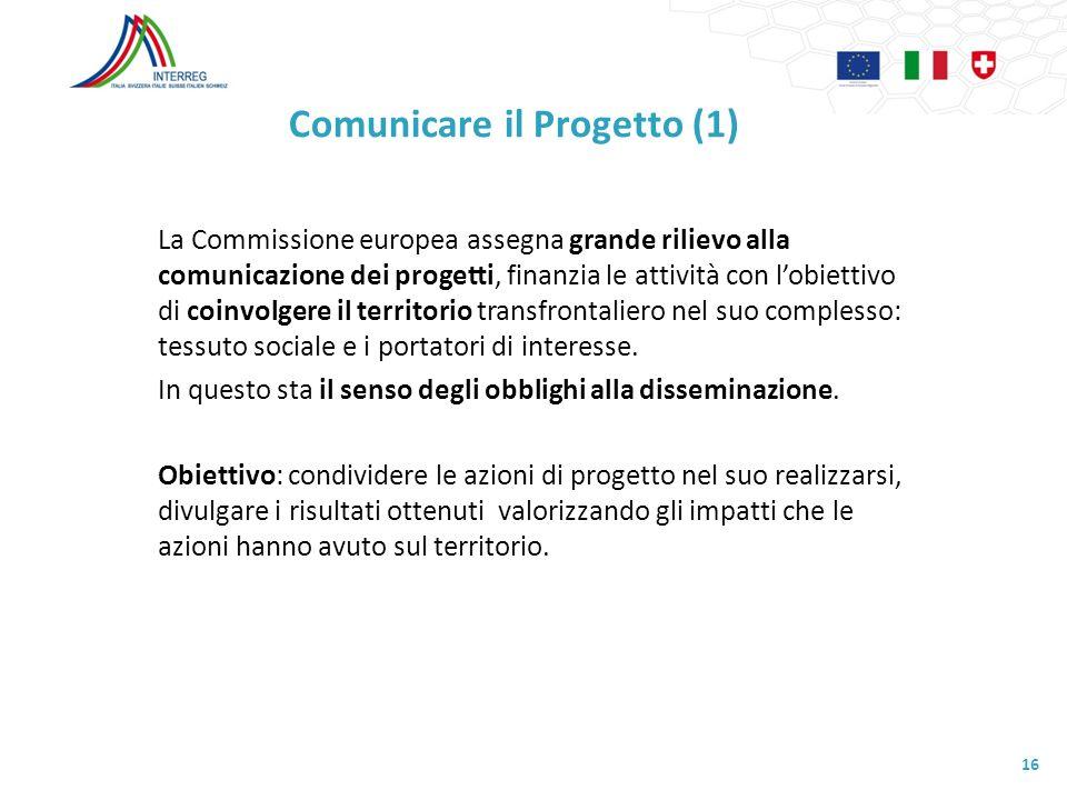 Comunicare il Progetto (1)