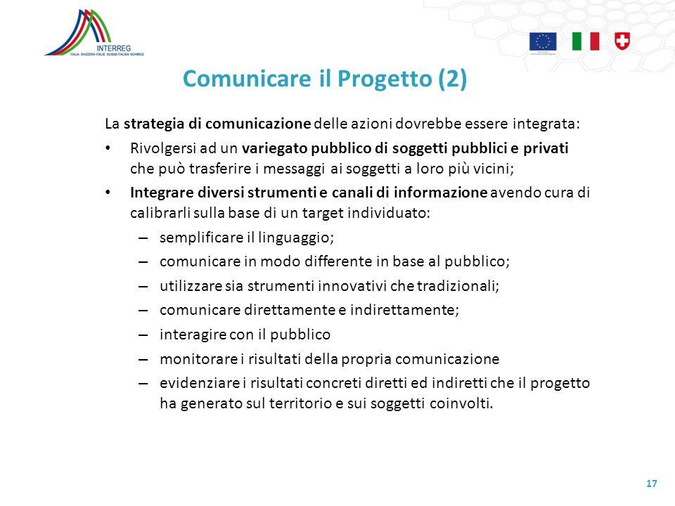 Comunicare il Progetto (2)