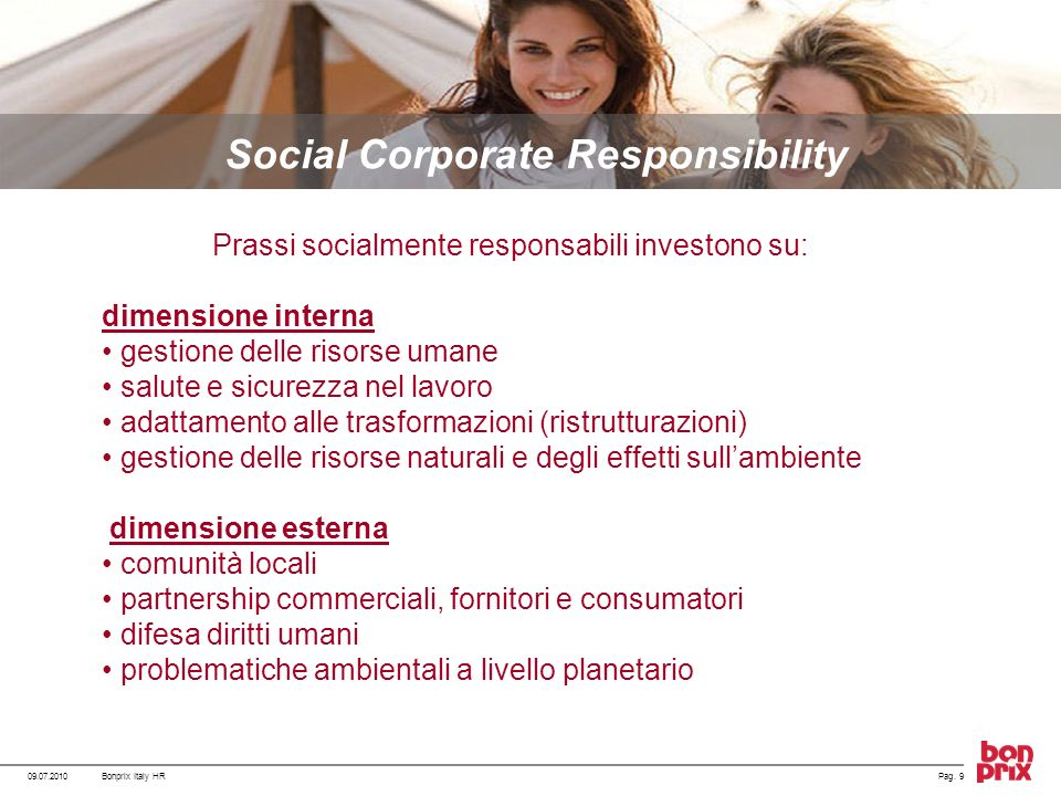 Social Corporate Responsibility