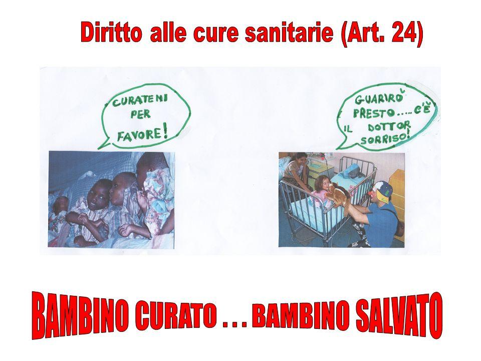 BAMBINO CURATO . . . BAMBINO SALVATO