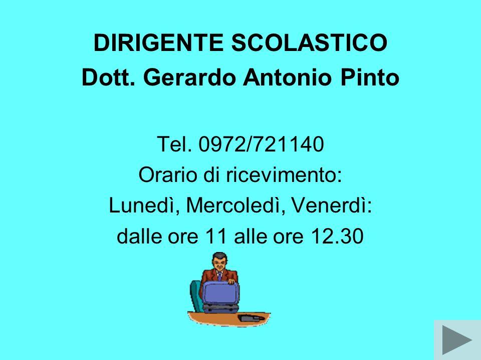 Dott. Gerardo Antonio Pinto