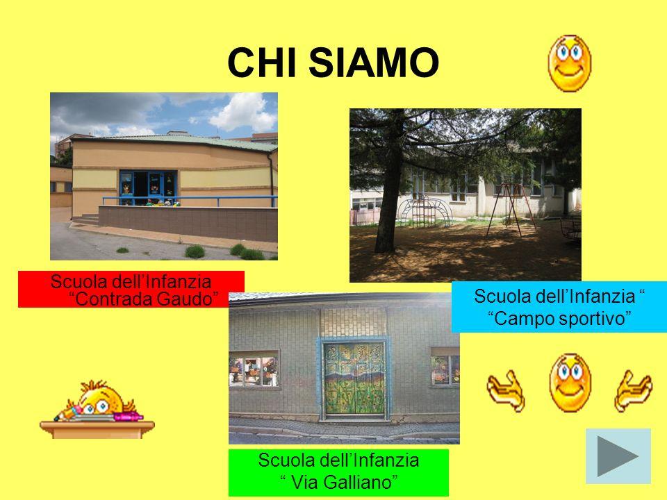 CHI SIAMO Scuola dell'Infanzia Contrada Gaudo