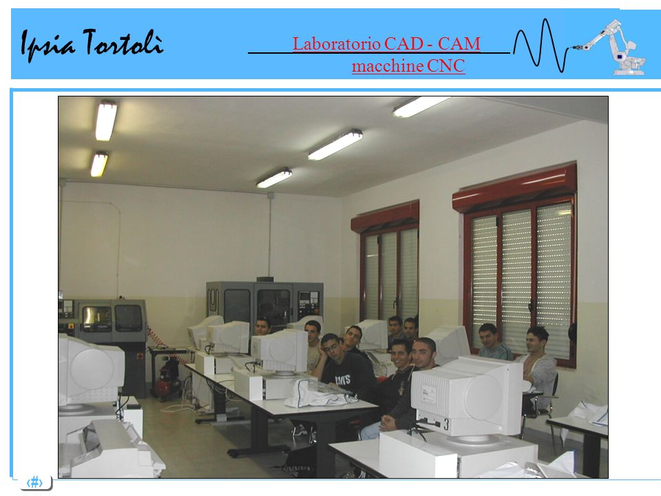 Laboratorio CAD - CAM macchine CNC