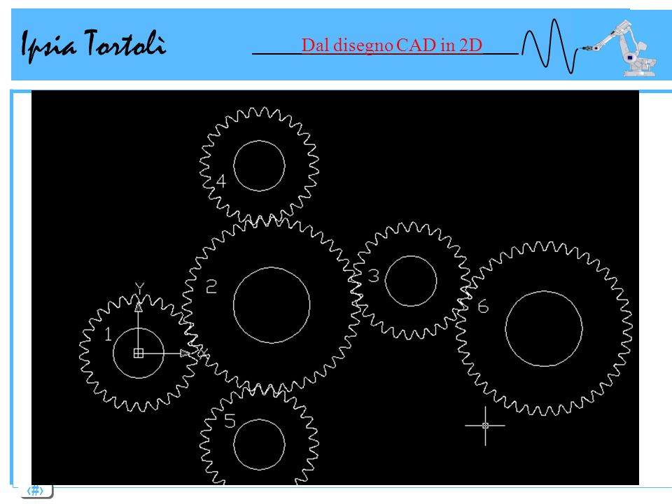 Ipsia Tortolì Dal disegno CAD in 2D
