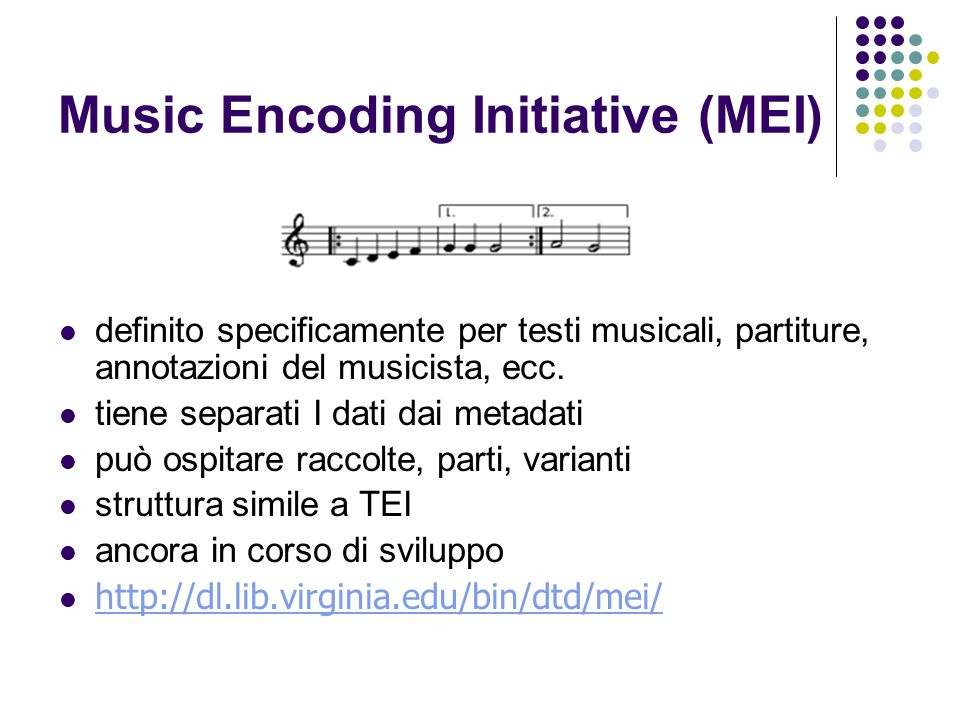 Music Encoding Initiative (MEI)