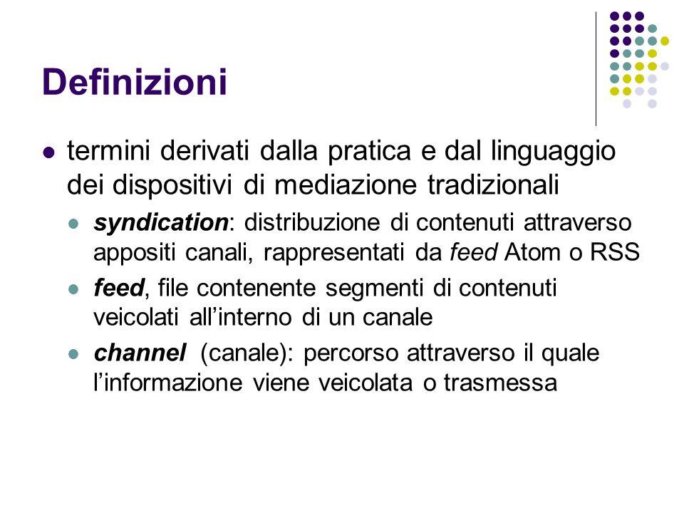 Definizionitermini derivati dalla pratica e dal linguaggio dei dispositivi di mediazione tradizionali.