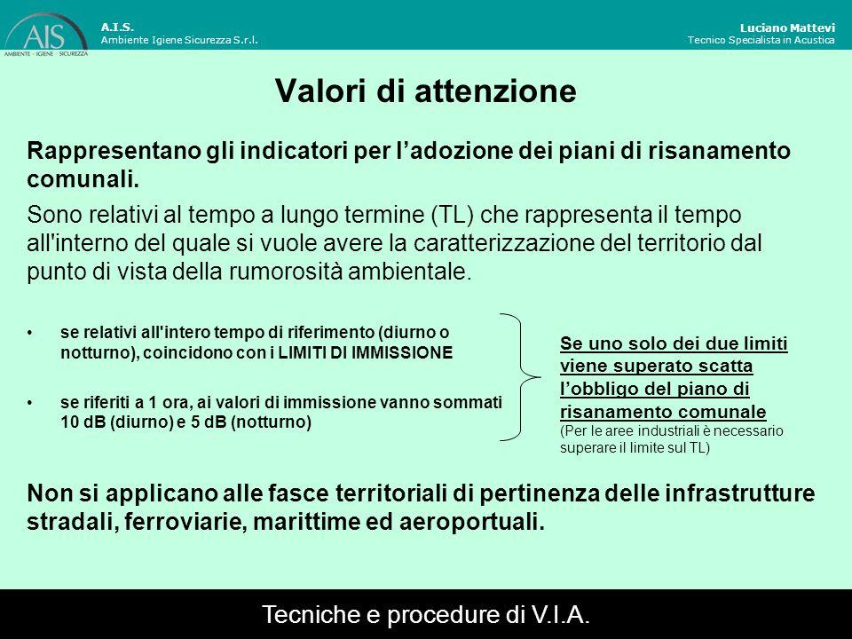 Tecniche e procedure di V.I.A.