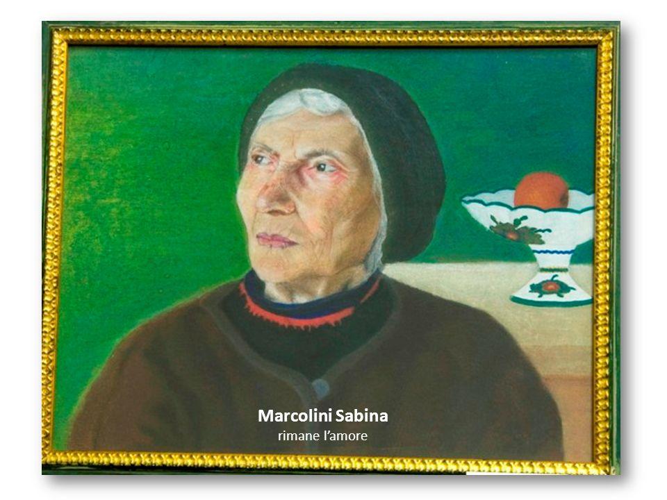 Marcolini Sabina rimane l'amore