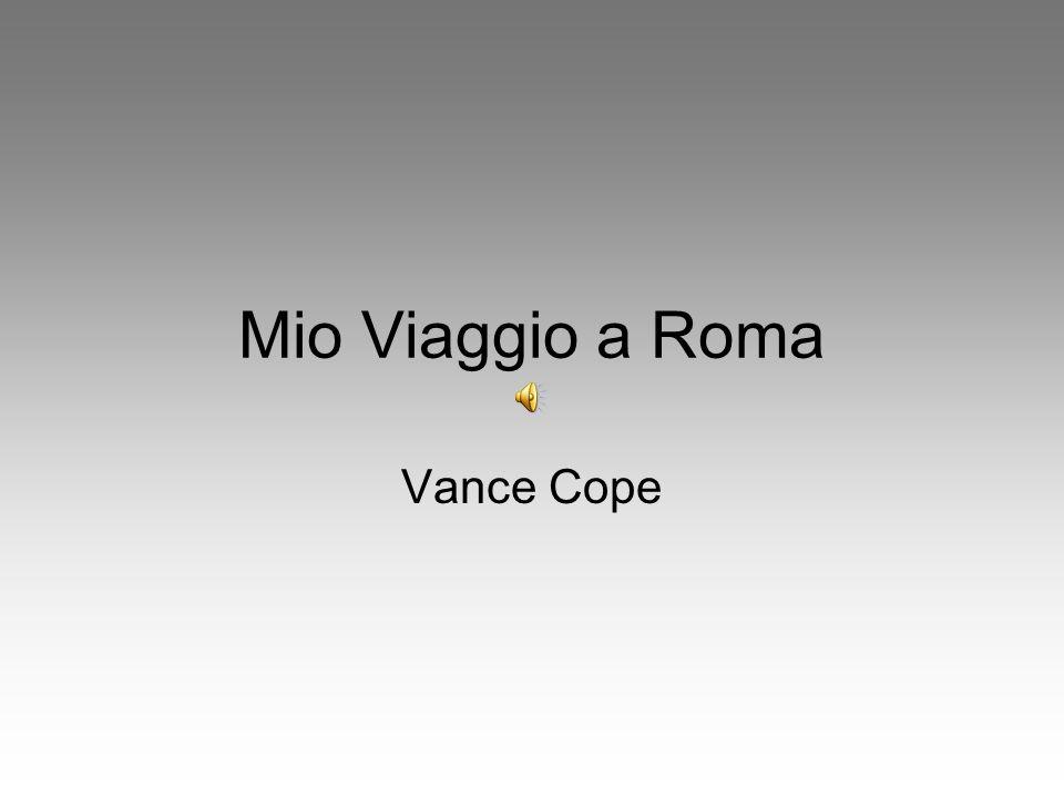 Mio Viaggio a Roma Vance Cope