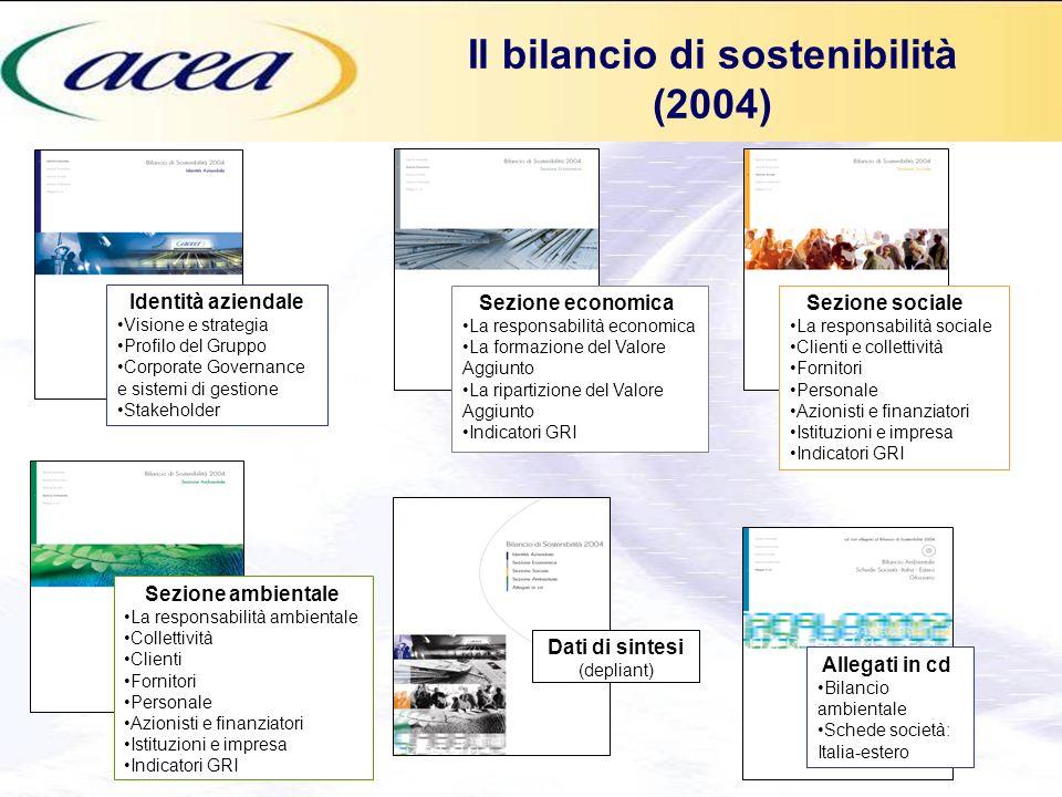 Il bilancio di sostenibilità (2004)