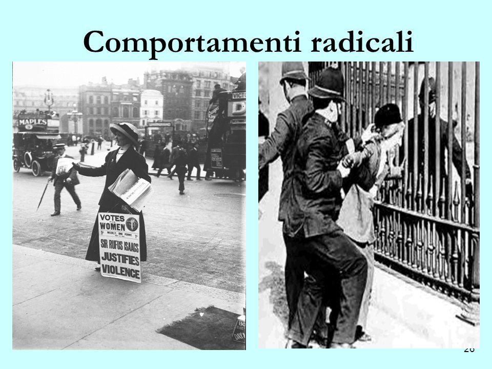 Comportamenti radicali